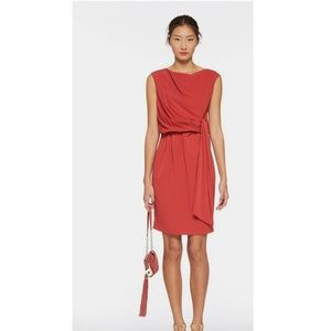 DVF Tamara Sleeveless Dress with side tie